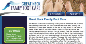 Foot Care Newsletter